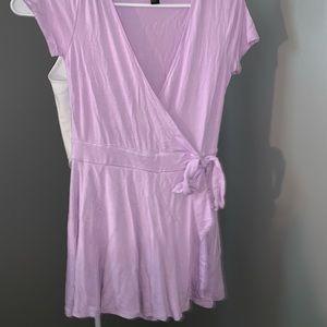 Dresses & Skirts - Forever 21 wrap skort romper never worn